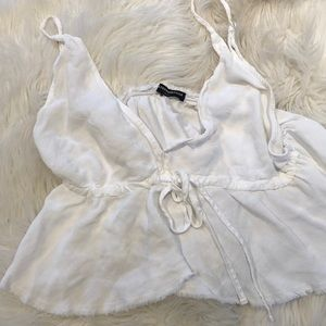 Brandy Melville white camisole top